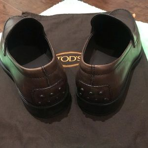 Tod's Shoes - TOD'S Leather Penny Loafers